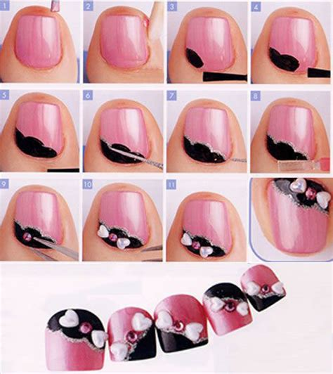 25 easy step by step nail tutorials for beginners