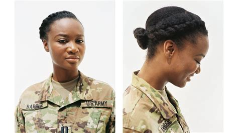 army regulation for female haircuts vogue profiles women who are natural in the military