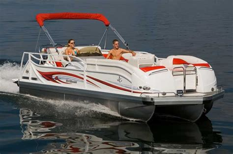 types of tritoon boats research jc pontoon boats 226 tritoon on iboats