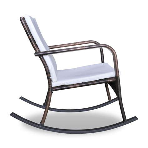 sedia a dondolo in inglese articoli per vidaxl sedia a dondolo da giardino in poli