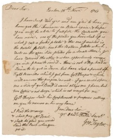 up letter for declaration of independence letter by easton s george who signed declaration