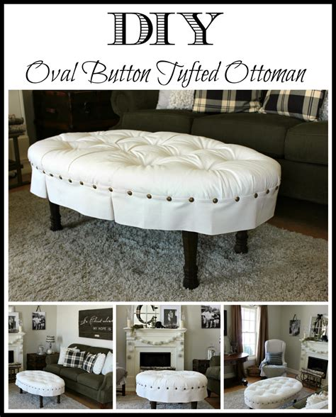 round tufted ottoman diy hymns and verses diy oval button tufted ottoman