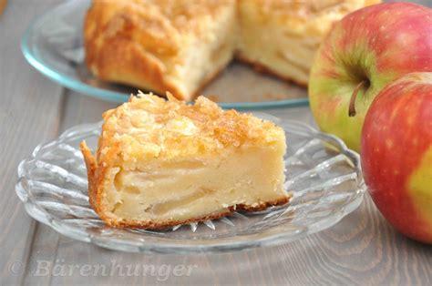 B 228 Renhunger Apfel Joghurt Kuchen Mit Zuckerkruste
