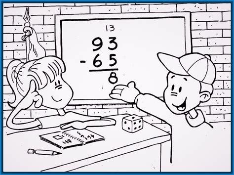 imagenes estudiando matematicas ni 241 os estudiando imagenes para colorear archivos dibujos