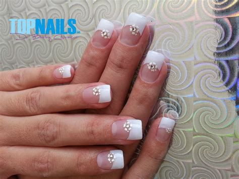 imagenes uñas francesas decoradas topnails cl u 241 as acr 237 licas y u 241 as gel a domicilio u 241 as