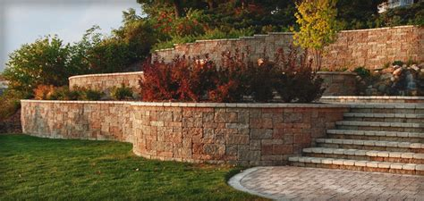 pictures of garden retaining walls walls outdoor living kits pavers hardscape products