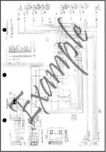 1989 ltd crown grand marquis wiring diagram ford mercury electrical 89 ebay