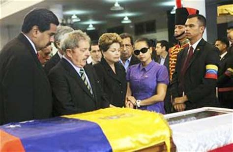 top leaders at chavez s funeral