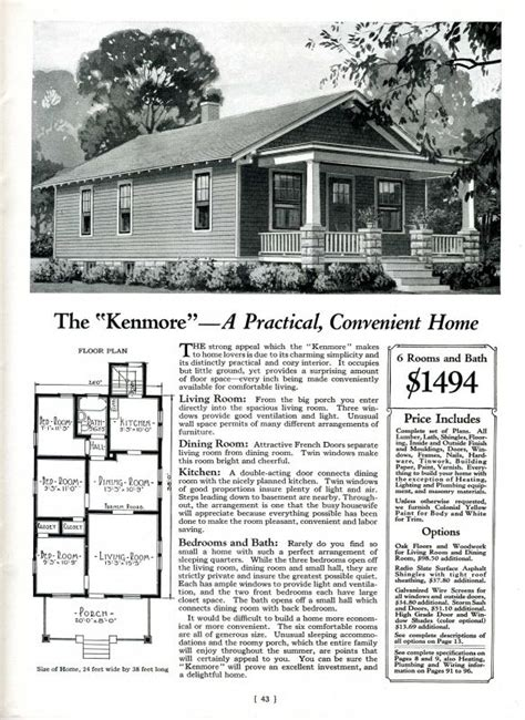 A Kenmore House By Montgomery Ward I Remember Pinterest