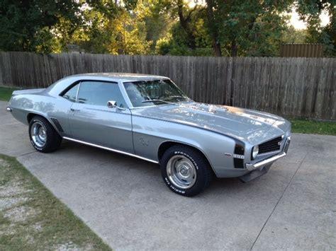 1969 camaro silver cortez silver 1969 chevrolet camaro ss for sale mcg