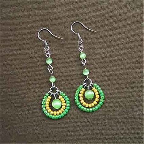 Beaded Earrings 15 diy seed bead earring patterns guide patterns