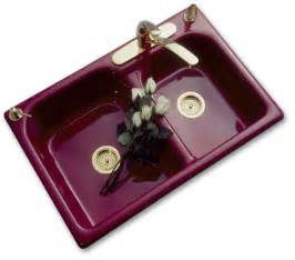 coloured kitchen sinks double bowl kitchen sinks porcelain looks with cast iron strength