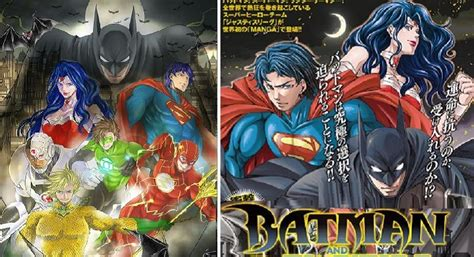 justice league  full manga makeover   japanese series