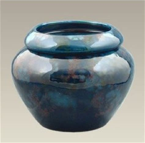 Urn Shaped Planters by Blue Urn Shaped Self Watering Planter