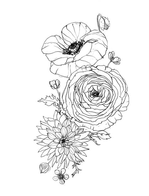 buttercup flower tattoo designs image result for ranunculus tats