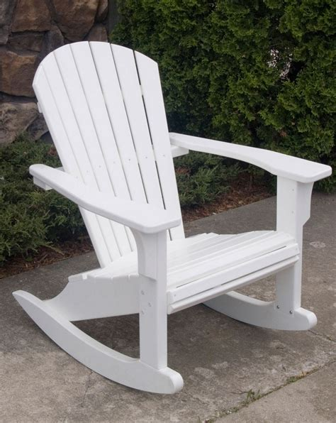 Ideas Design For Adirondack Rocking Chair with Unique Polywood Adirondack Rocking Chair For Coaches Design Ideas Cutting Polywood Adirondack