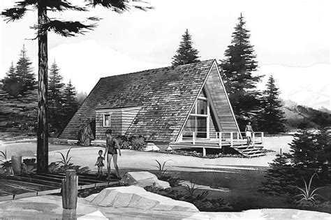 house plans home design frame with loft chalet modern hillside