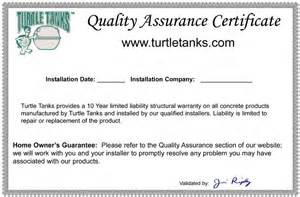 Quality Certification Letter Qa Certificate