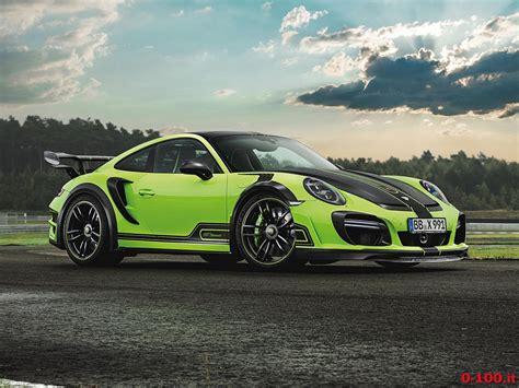 Porsche 911 Turbo S 0 100 by Tuning Techart Gt R 0 100 It