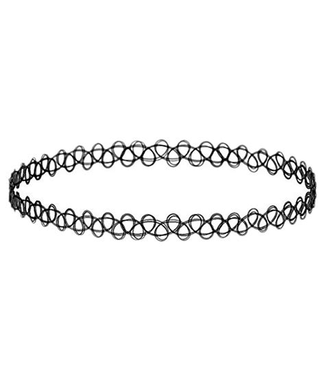 Tattoo Choker Online India | access o risingg black fake tattoo choker snapdeal price