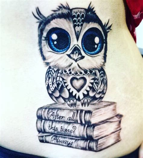 owl tattoo harry potter quote harry potter tattoos