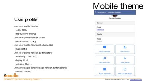 moodle themes for mobile creating moodle mobile remote themes moodle moot us 2016