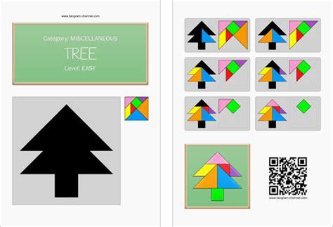 printable christmas tree tangram tangram tree printable tangram worksheet 267