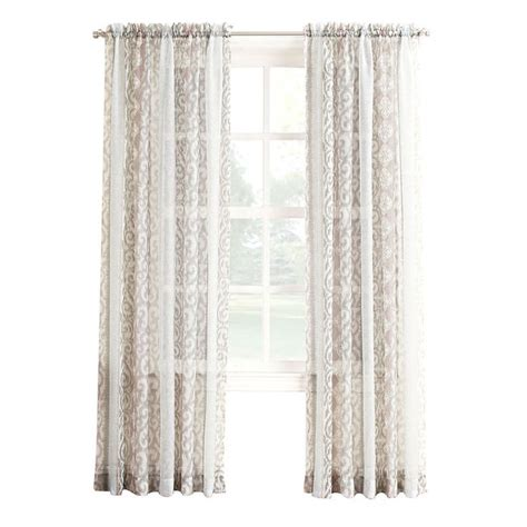 shell curtain shell printed viole window curtain panel 84 in window