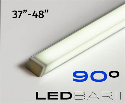 led lights cut to size cut to size 37 quot to 48 quot turn key linear led bar fixture