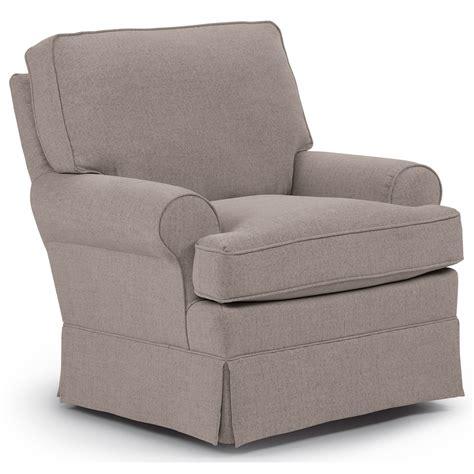 Best Home Furnishings Chairs Swivel Glide 1577 Quinn Swivel Glide Chair