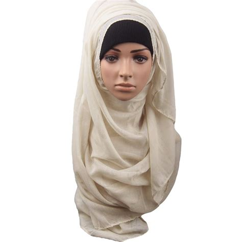 muslim soft maxi islamic scarf high quality