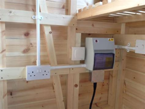 Shed Electrics by Tlp Electrical Services Electrician In Finedon