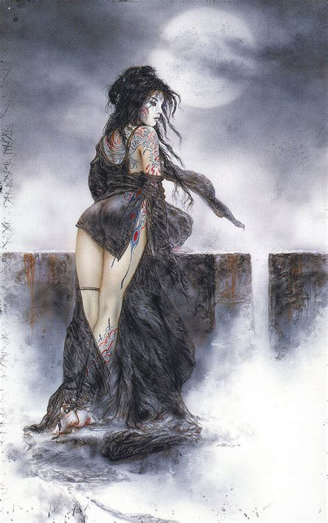 luis royo dead moon click here for the full size image 1002x1600 2032kb