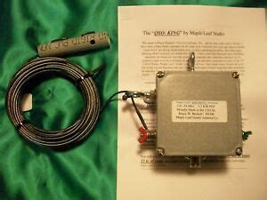 quot qso king quot 160 6 meters 1 5 kw end fed ham antenna ebay