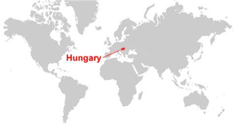 world map of hungary hungary map and satellite image