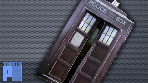 how to make a tardis out of paper that s ps
