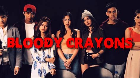 cast of my bloody bloody crayons who did the killing