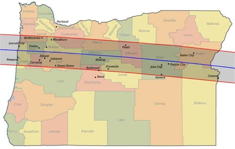 map of oregon solar eclipse how to safely view the solar eclipse portland oregon