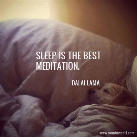 sleep quotes sleep is the best meditation inspirational quotes
