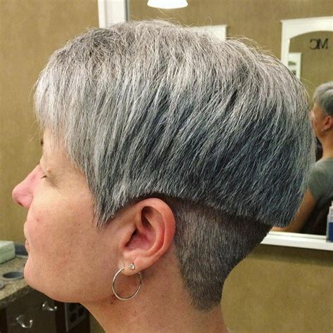 is layering or undercutting considered styling beyond just a cut short choppy hair cuts for women with fine hair over 50