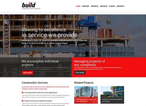 20 responsive construction joomla templates free website