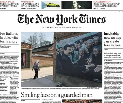 Pdf New York Times Archives Free by The New York Times International 07 03 2018 Pdf