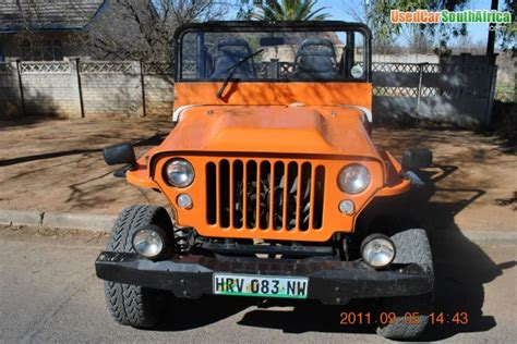 Willys Jeeps For Sale In Sa 2011 Jeep Willys Svm Jeep Willys 4x4 Used Car For Sale In