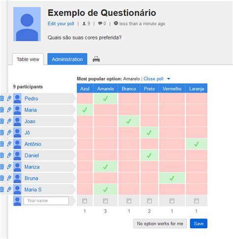 doodle respostas doodle facilita na hora de criar question 225 rios doodle