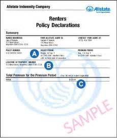 how to read policy renters insurance made simple