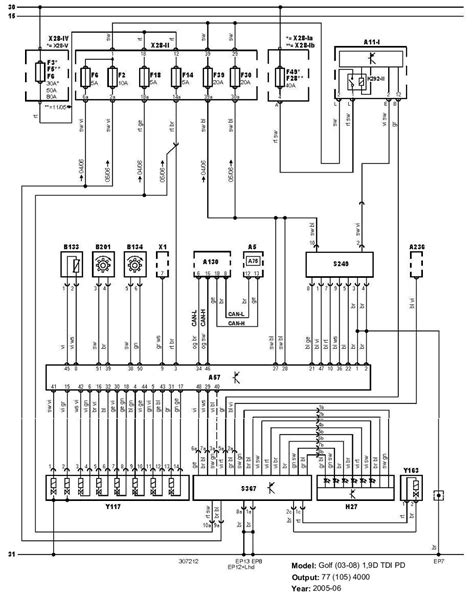vw parts transporter t4 1 9 tdi engine wiring diagrams