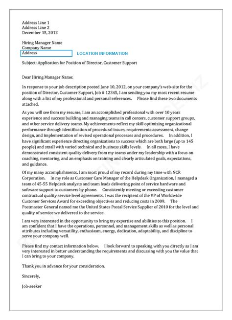 example of cover letter to recruitment agency 2. sample