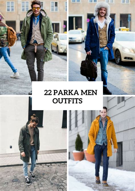 22 Cool Parka Outfits For Men   Styleoholic