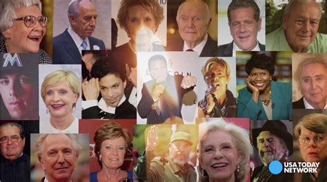 people who die 2016 12news com 16 notable people who died in 2016