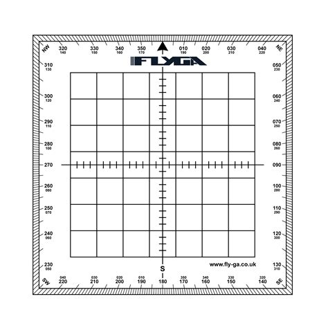 Square Fly Square 1 map navigation protractor square fly ga